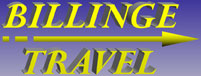 Billinge Travel logo - Airport Transfers, Local Private Hire, Business Taxi, Courier Services, Wedding Chauffeurs